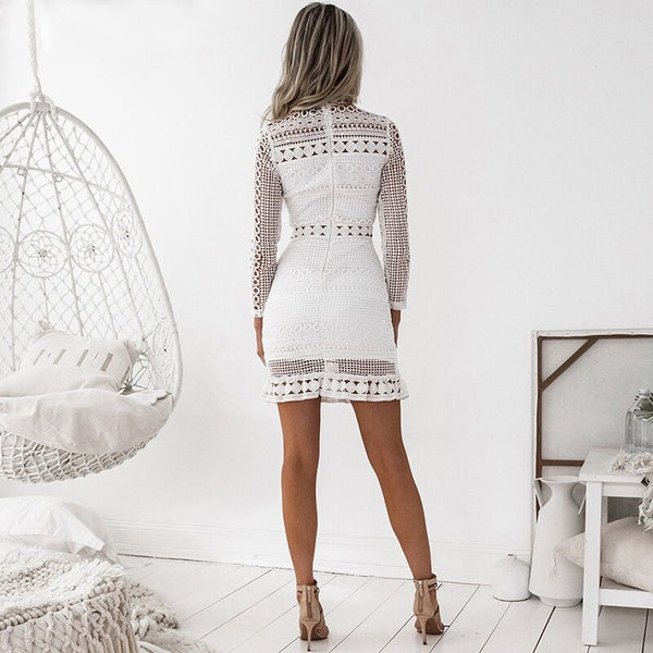 CHANNEL WHITE MINI DRESS