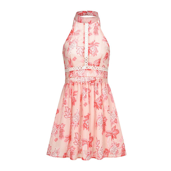 HARPER FLORAL SHORT DRESS