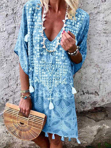 LELA BOHEMIAN TUNIC DRESS