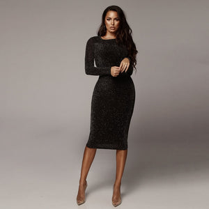 ASHLEY  MIDI DRESS