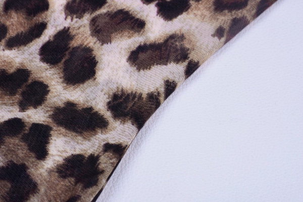 GIGI LEOPARD MINI DRESS