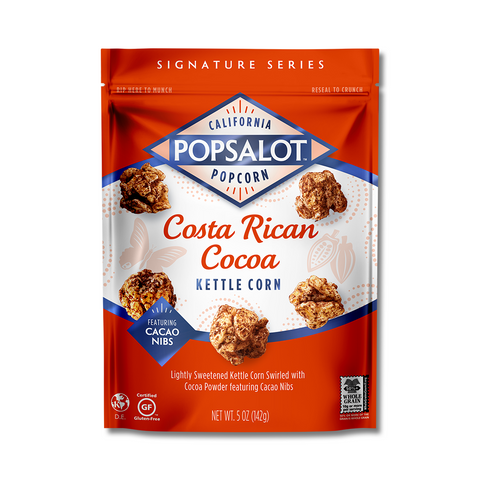 Costa Rican Cocoa Kettle Corn, 12 Pack