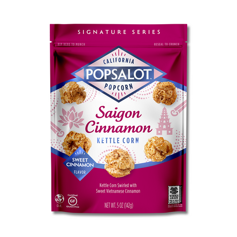 Saigon Cinnamon Kettle Corn, 12 Pack