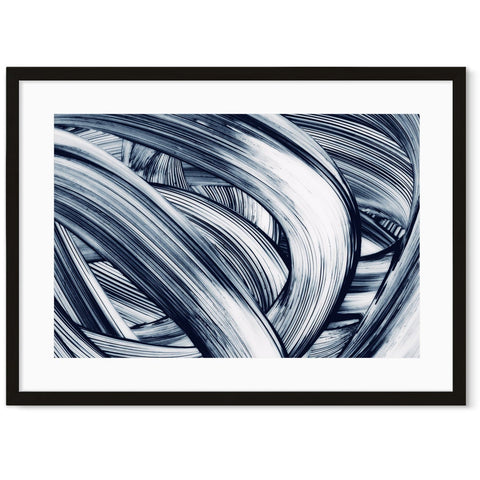 abstract black and white prints