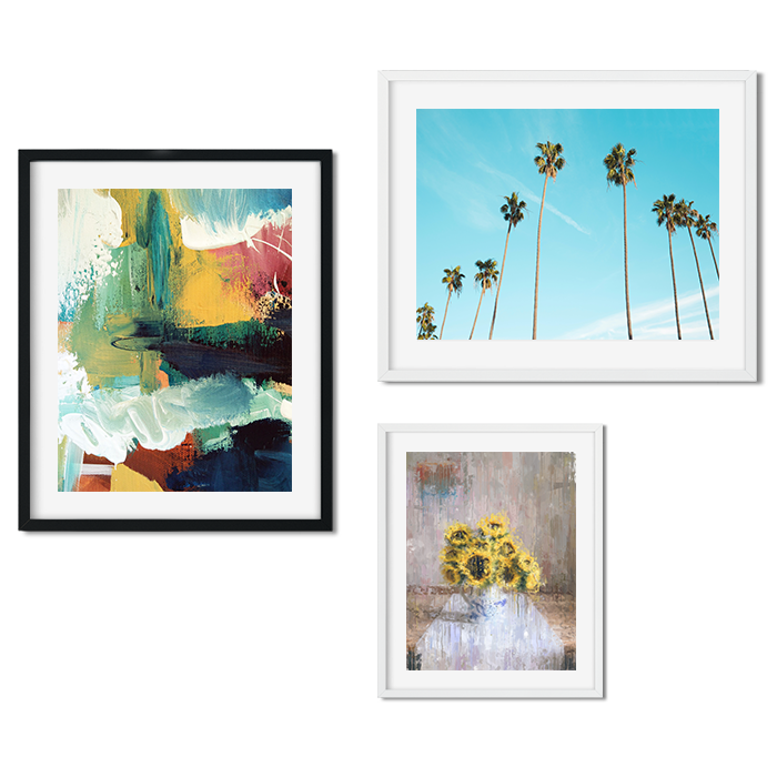 Framed Wall Art Prints Abstract House