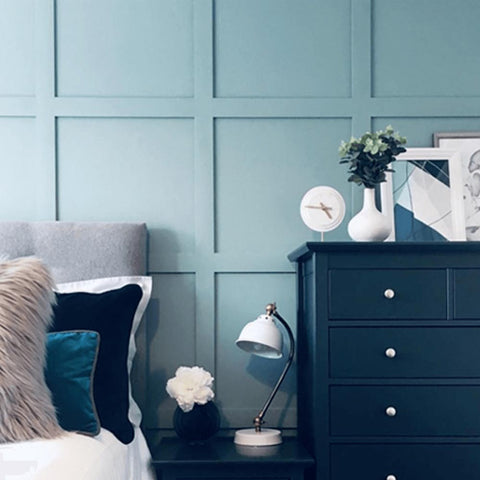 Bedroom Art Green Turquoise Teal Designs by ESD Home