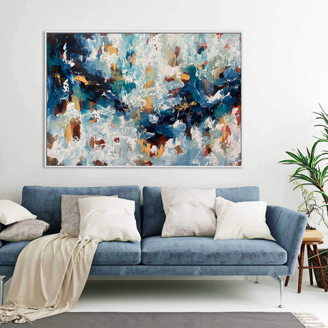 large abstract painting uk