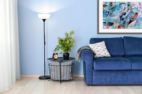 large blue art ideas for your living room 2021