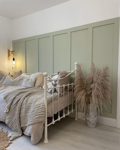 Sage green pink wall paint choosing complimenting wall paint colours