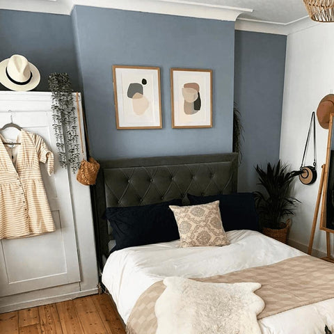 Modern Bohemian Bedroom Design by Our Victorian Terrace