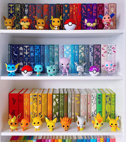 rainbow shelfie penguin english library clothbound classic novels pokemon funko pop