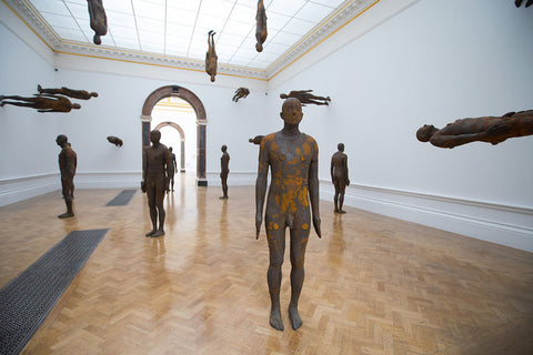 Anthony Gormley at Royal Academy Of Arts Exhibition In London