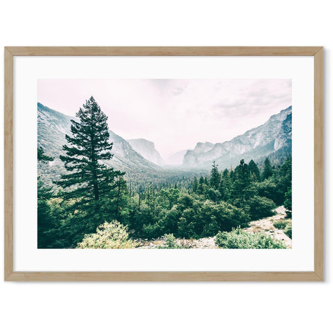 Yosemite National Park photography landscape art for your home office decor
