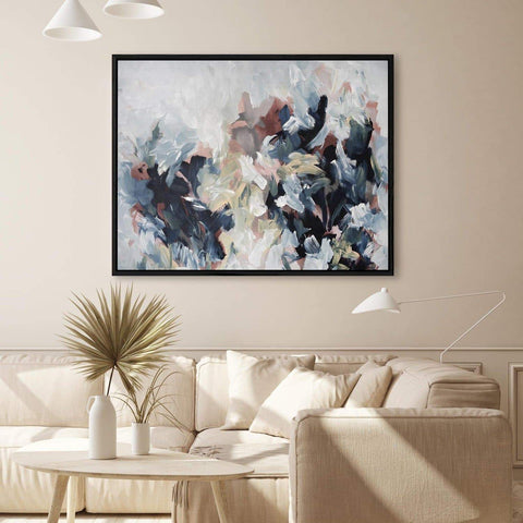 large abstract canvas paintings uk