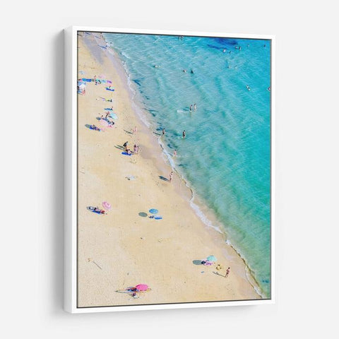 Sun And Beach Canvas Print