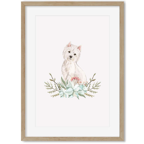 animal art for your hallway botanical art country cottage cute pet portraits
