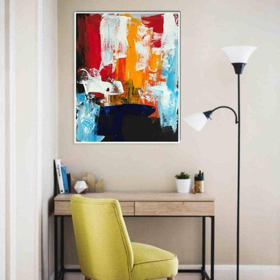 Identity 2 - Original Painting Abstract House