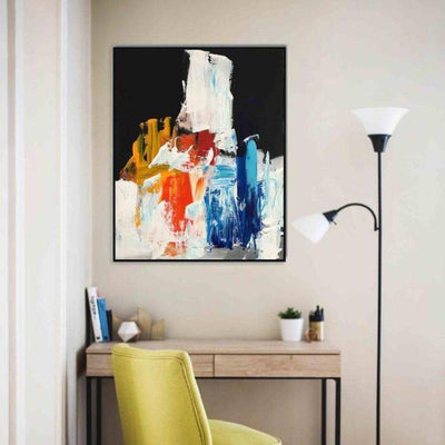 Identity 3 - Original Painting Abstract House