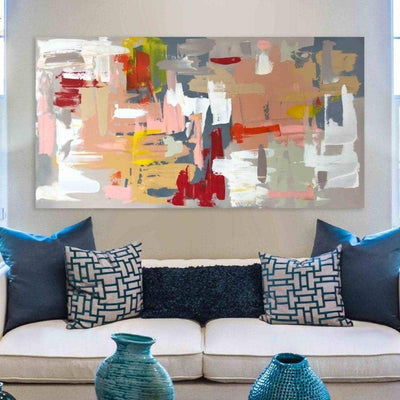 The Enchanted 2 - Original Painting Abstract House