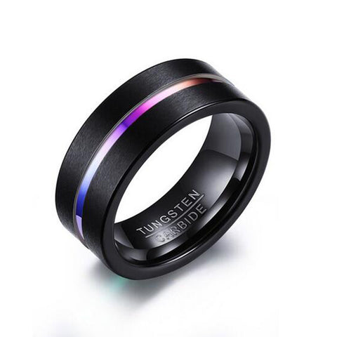 High Quality Tungsten Carbide Heavy Steel Ring