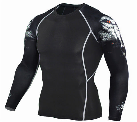 Fitness Long Sleeves Thermal Compression