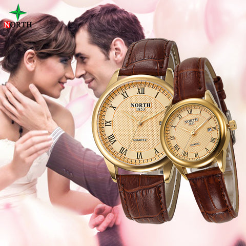 Couples Fashion Design Watch