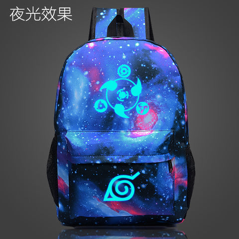 Naruto Luminous Travel Backpack