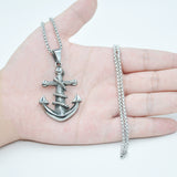 Men Anchor Steel Chain