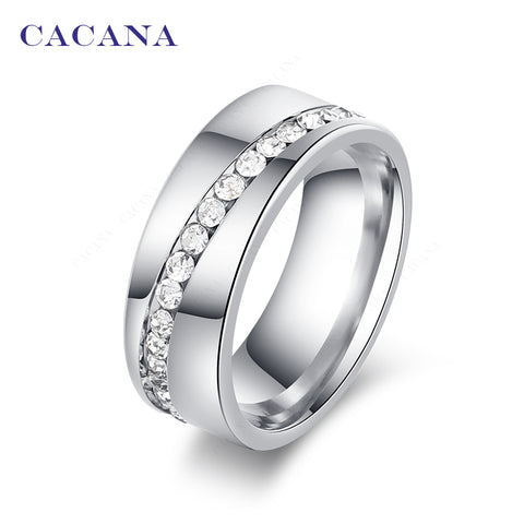 Unisex Titanium Stainless Steel Rings