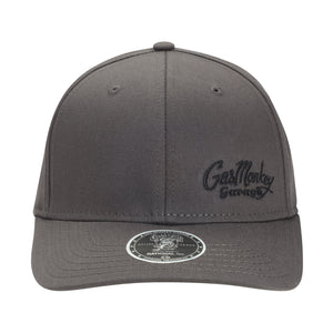 Grey Side Script Fitted Hat