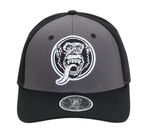 Monkey Face Patch Fitted Hat