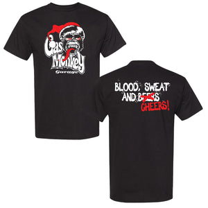 Blood, Sweat and Cheers Short Sleeve Tee