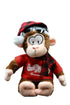 Winter Monkey Plush