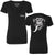 Ladies Monkey Face Deep V-Neck