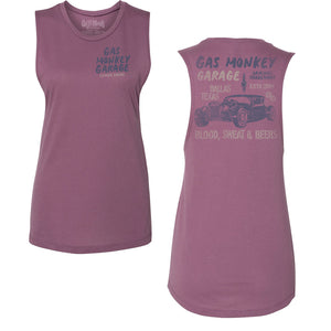 Ladies Hot Rod Cut Off Tank
