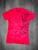 Pink Burnout Vneck