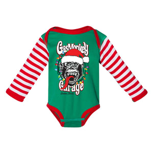 Christmas Lights Monkey Onesie