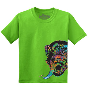 Youth Side Monkey Tee