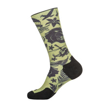 Sock And Awe Crew Tropic