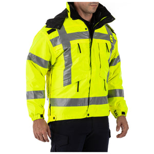 3-in-1 Reversible High-Visibility Parka