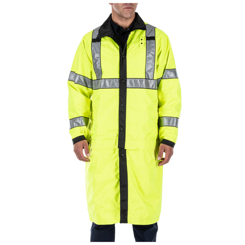 Reversible Hi-Vis Rain Coat