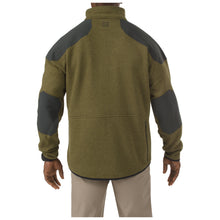 Tactical Full Zip Sweater