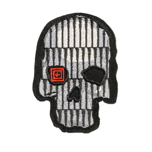 CRUSTY BULLET SKULL PATCH