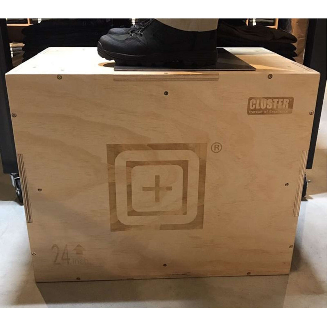 Cluster WOODEN JUMP BOX