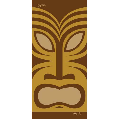 HeadCase - Tiki Mask with Polar Fleece - mentalgear.com