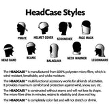 HeadCase - Ornamental Black with Polar Fleece - mentalgear.com