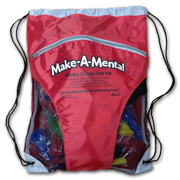 Make-A-Mental™ Funky Fleece Hat Kit (YOUTH 3-7) - mentalgear.com