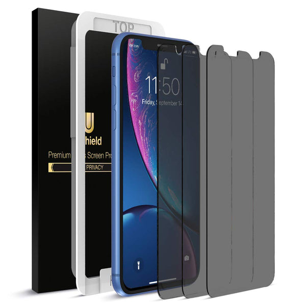 uShield Privacy Screen Protector - iPhone 11/XR