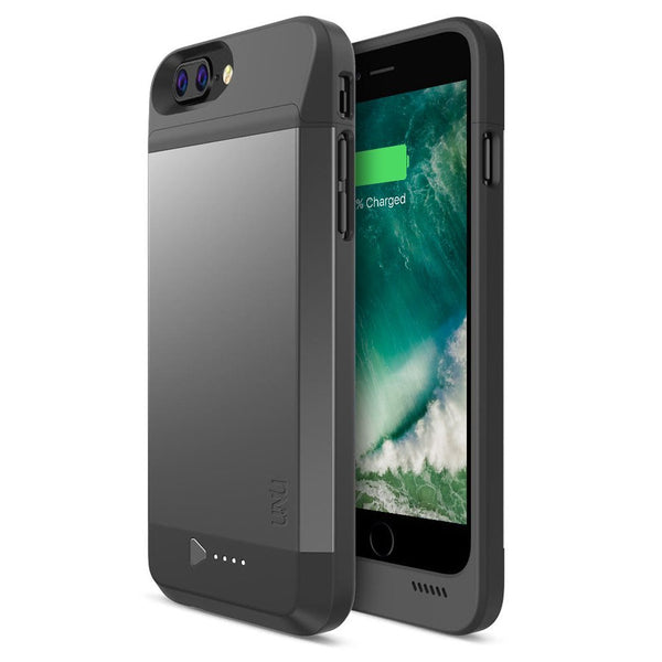 online store 8750f 21cc7 DX-7 Protective Battery Case (4100mAH) - iPhone 8 Plus / iPhone 7 Plus