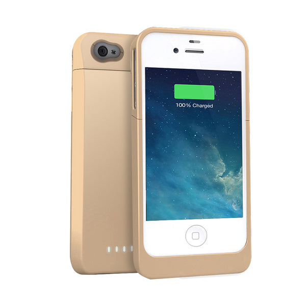 DX-4 Battery Case (1700mAH) - iPhone 4/4s